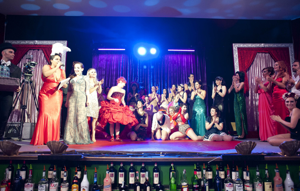 International burlesque showcase
