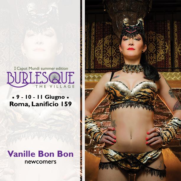 English I Caput Mundi International Burlesque Award 2017