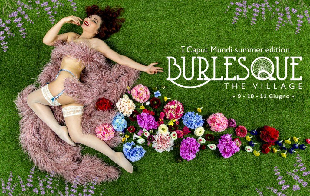 I Caput Mundi International Burlesque Award 2017  Edizione Estiva