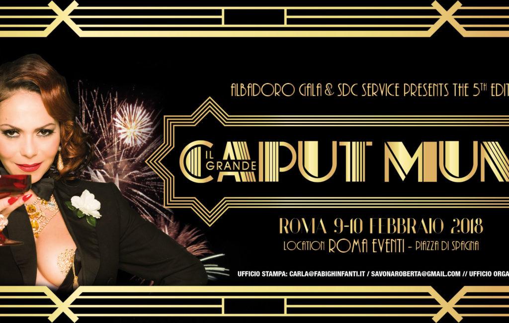 V CAPUT MUNDI INTERNATIONAL BURLESQUE AWARD – Programma 2018