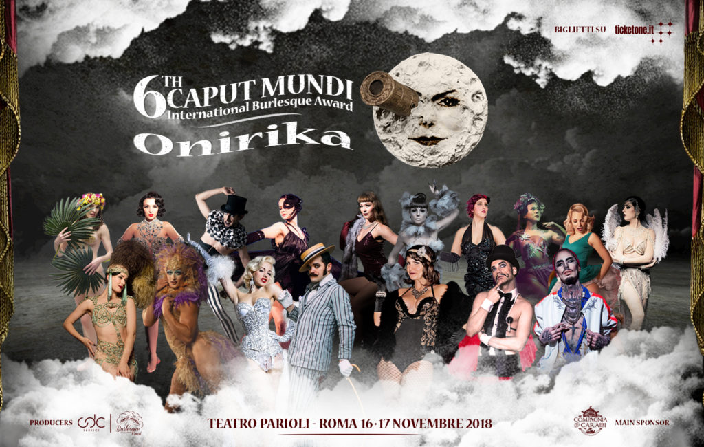 VI CAPUT MUNDI INTERNATIONAL BURLESQUE AWARD